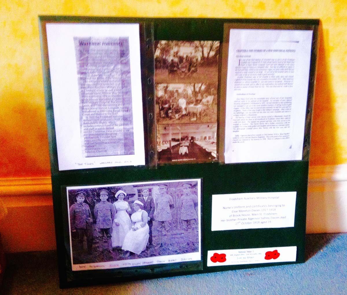 2014 Castle Park Arts Centre WW1 Exhibition.jpg